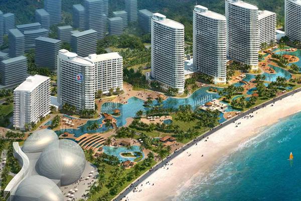 惠州巽寮湾海公园沙滩拓展训练基地